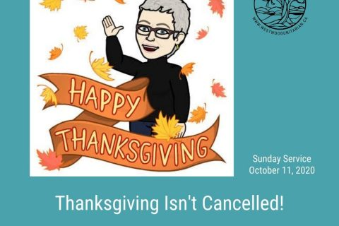 2020-10-11 Thanksgiving Isn't Cancelled 1080x1080
