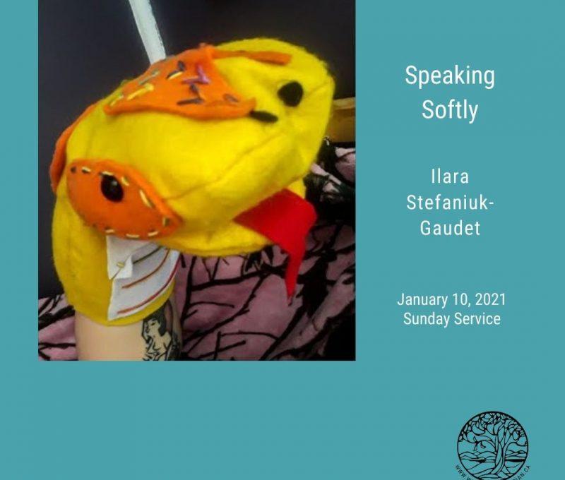 2021-01-10 Speaking Softly 1080x1080