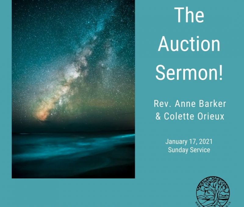2021-01-17 The Auction Sermon 1080x1080