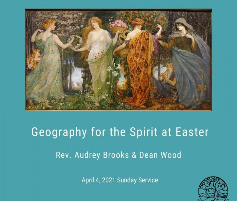 2021-04-04 Geography for the Spirit at Easter 1080x1080