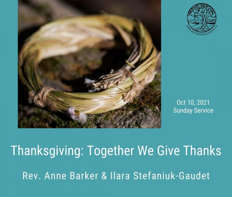 2021-10-10 Thanksgiving Together We Give Thanks 1080x1080