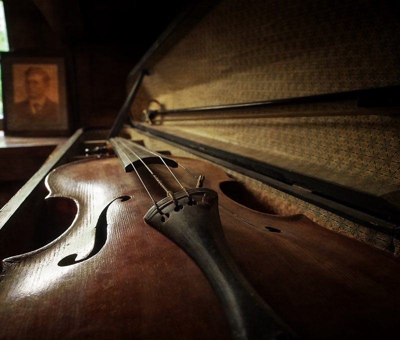 Dad's Violin by Vince Morban
